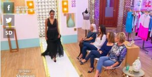 robe de cocktail Gwanni pour Les Reines du shopping